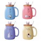 Gift Idea, cute ceramic cat mugs
