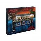 LEGOinglys 75810 Stranger Things the upside down Building Blocks Bricks Set Children Toys gift