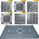 LEGOinglys City Straight T-junction Curves and Crossroad 60236 Building Kit (15 Pieces)