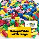 Classic Bricks - Compatible with Lego (500 pieces+1Box) gift idea