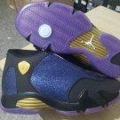 NIKE Jordan 14 Black Purple Men
