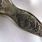 INDIANA STATE Silverplate Souvenir spoon by ONEIDA