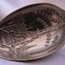 INDIANAPOLIS SOLDIERS & SAILORS MONUMENT Sterling Souvenir Spoon by FESSENDEN