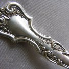 SALE * LITCHFIELD Sterling SMALL BEEF SERVING FORK by INTERNATIONAL SIMPSON HALL 1898