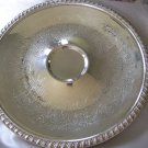 Round SILVERPLATE SERVING TRAY - Leonard Silver Co