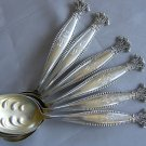 SALE ** SANDRINGHAM Sandringhaam Sterling ICE CREAM DESSERT SPOONS by SHIEBLER 1895