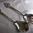 SALE * MEDALLION Sterling  SALAD SERVING SPOON by GORHAM Newer