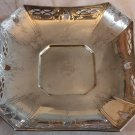SALE * ALVIN Sterling PIERCED  ART DECO SERVING TRAY BOWL No. F38.8 S Mono