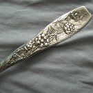 * BERRY * by WHITING  Sterling SERVING SPOON