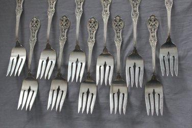 PRIMROSE Sterling  SALAD FORK by International Silver