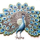 Peacock | Refrigerator Magnet | Handpainted Magnets | Bird Magnets