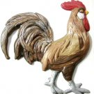 Rooster | Refrigerator Magnet | Handpainted Magnets | Bird Magnets