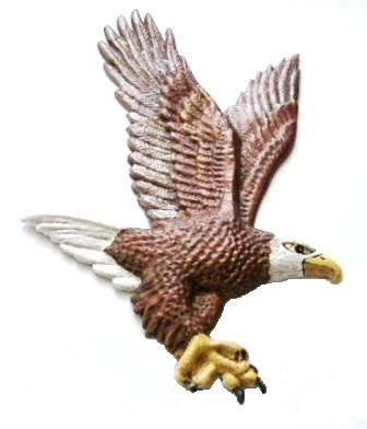 Bald Eagle | Ornament | Hand-Painted Gifts | Decor