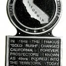 California State Histerical Marker Large Handpainted