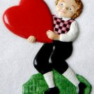 Boy with Heart Light   Ornament   Hand-Painted Gifts   Decor