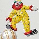 Clown Playful | Refrigerator Magnet |Handpainted Magnets | Clown Magnets