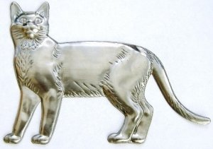 Cat | Refrigerator Magnet | Handpainted Magnets | Animal Magnets