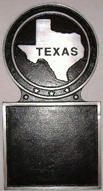 State Plaque Custom Hand-Painted Message