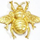 Brass Bumble Bee | Refrigerator Magnet | Handpainted Magnets | Insect Magnets