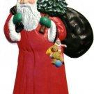 Santa | Refrigerator Magnet | Custom Handpainted Magnet | Seasonal Magnets