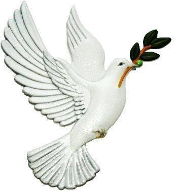 Dove | Refrigerator Magnet | Handpainted Magnets | Bird Magnets