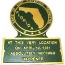 FL State Histerical Marker Small Handpainted