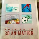 Physics in 3D Animation Textbook by Jason Busby Comes with Windows CD Rom