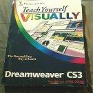Teach Yourself Visually Web Design Dreamweaver CS3 by Warner, Janine Paperback