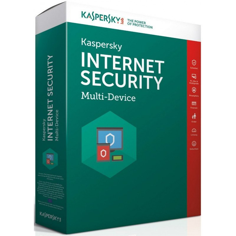 Kaspersky Internet Security 2020 3 Device   3 years US Activation region