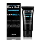 Mabox Blackhead Remover Mask Deep Cleansing Face Charcoal Black Peel Off Mask Farewell Strawberry No