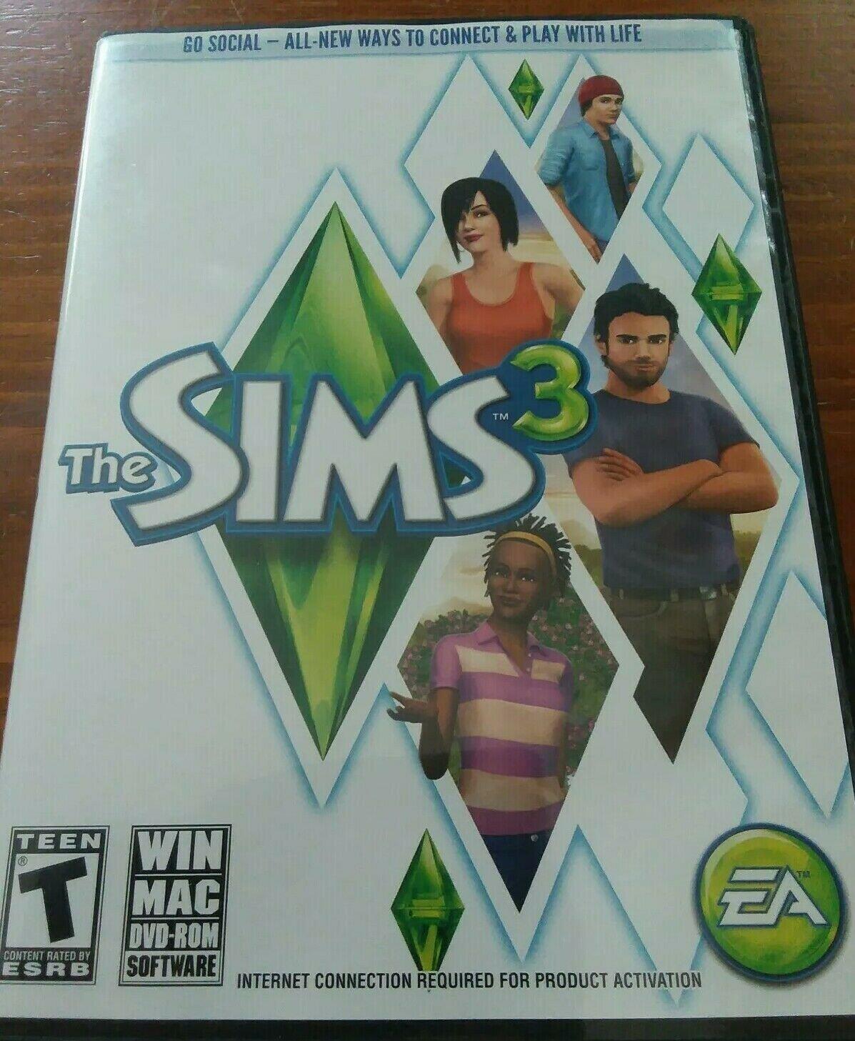 Sims 3 (Windows/Mac: Mac and Windows, 2009) Pc Computer Game EA Games Free Ship