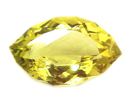 #9008 Lime Citrine Natural 15.99cts Fancy Cut