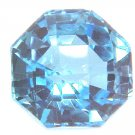#9016 Topaz Medium Blue Natural 9.57cts