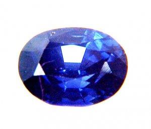 #9629 Sapphire Cornflower Blue Natural 1.25cts