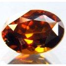 #9803 Reddish Orange Zircon Natural 3.86 cts