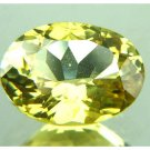 #10777 Chrysoberyl Yellow - Green Natural 3.28 cts