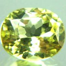#10782 Chrysoberyl Medium Green Natural 2.74 cts