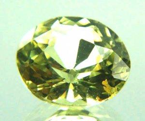 #10783 Chrysoberyl Medium Green Natural 3.17 cts