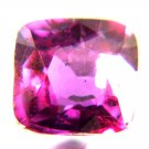 #11323 Sapphire - UNHEATED  Purple Red Natural 0.84 cts