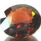 #12056 Hessonite Garnet Orange - Red Natural 23.20cts