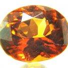 7249 Hessonite Garnet Natural 4.32cts Oval
