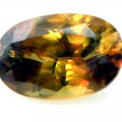 8882 Fine Sphene - Red/Gold Natural 1.33cts