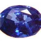 9196 Ceylon Sapphire Cornflower Blue Natural  0.76cts