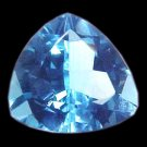 9272 Topaz Medium Blue Natural 6.46cts A Stunning Beauty!!