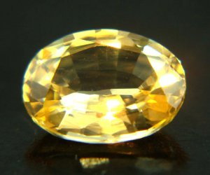 9529 Yellow Sapphire - Medium Yellow Natural 0.88cts