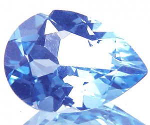 9810 Topaz - Stunning Swiss Blue Natural 8.40cts