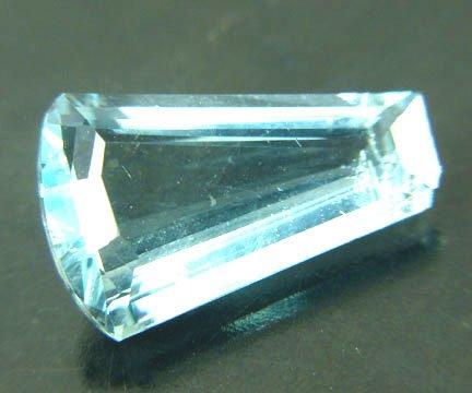 Fluorite - Fancy Cut - Neon Blue 8.59 cts 11624
