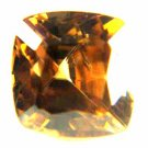 Zircon Medium Golden Brown 3.59 cts 12413