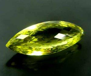 Lime Citrine Medium Yellow Green 26.02 cts 12510