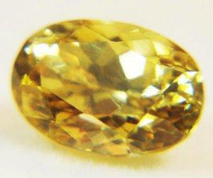 Zircon Yellow 1.86 Cts 13293